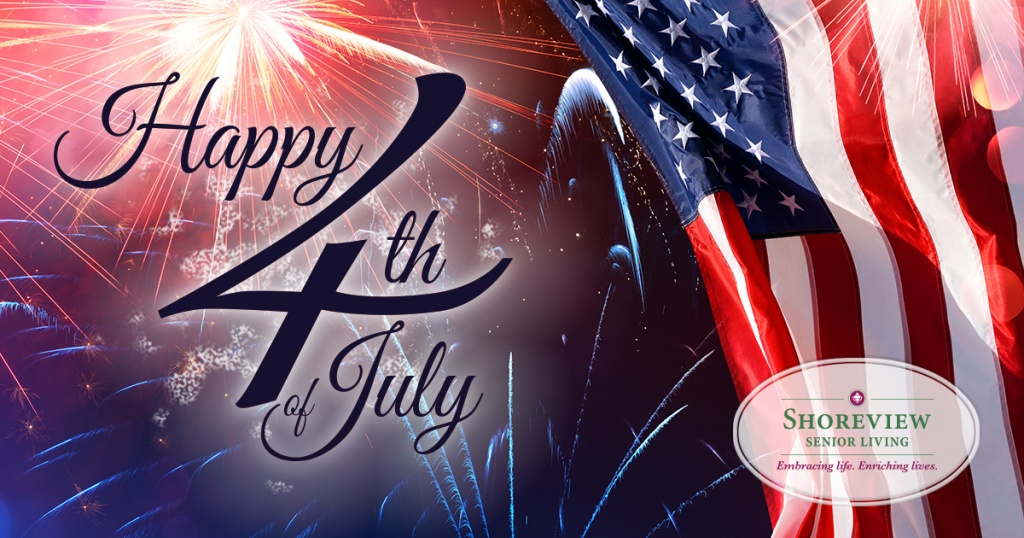 Shoreview Senior Living-Happy Fourth of July