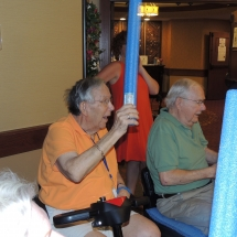 Good Shepherd Lutheran Church-Shoreview Senior Living-man playing balloon ball