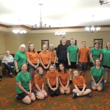 Good Shepherd Lutheran Church-Shoreview Senior Living-group picture of Summer Blast kids