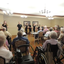 Children's Performing Arts-Shoreview Senior LIving-entertainment