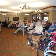 Children's Performing Arts-Shoreview Senior LIving-senior living crowd
