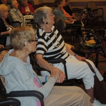 Coral Bells-Shoreview Senior Living-seniors enjoying the Carol Bells