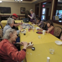 Craft and Bake Sale Sleighs-Shoreview Senior Living (1)