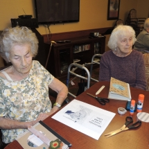 July Silverwood Nature Center Visit-Shoreview Senior Living-arts, crafts, and relaxing