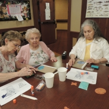July Silverwood Nature Center Visit-Shoreview Senior Living-painting
