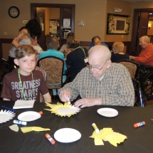 Summer Blast Kids Visit-Shoreview Senior Living (2)