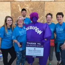 2017 Walk to End Alzheimer's Recap-Shoreview Senior Living-Thank the ladies and man for walking