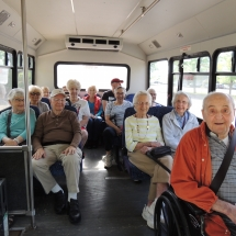 History on the Go at Fort Snelling-Shoreview Senior Living-Happy after a day filled with history