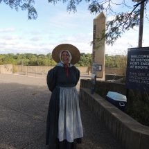 History on the Go at Fort Snelling-Shoreview Senior Living-Women dressed from the 1800s