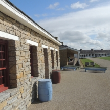 History on the Go at Fort Snelling-Shoreview Senior Living-Closeup of lower fort