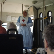 History on the Go at Fort Snelling-Shoreview Senior Living-Nurse from the 1800s