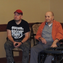 Magical Melodies with Andy-Shoreview Senior Living-Listening to the music