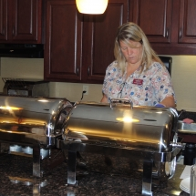 September Made to Order Breakfast-Shoreview Senior Living-Digging into the breakfast