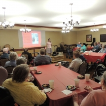 Tea and Trivia with Leo-Shoreview Senior Living-tenants participating in trivia