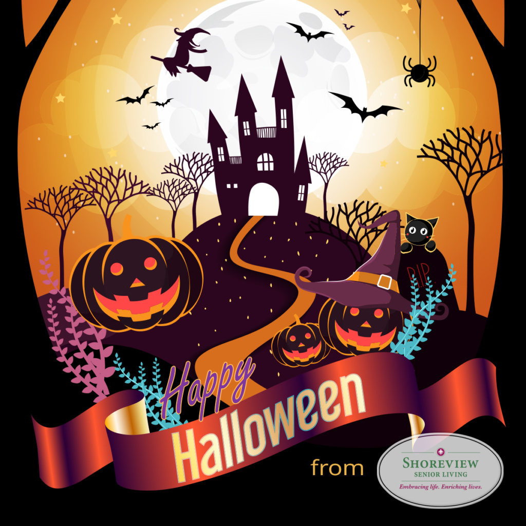 Happy Halloween-Shoreview Senior Living