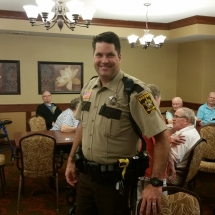 Crime Prevention and Mexico Oraphanage-Shoreview Senior Living-Shoreview visitor Deputy Mike Sirvatka