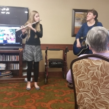Crime Prevention and Mexico Oraphanage-Shoreview Senior Living-Teaching Shoreview a Spanish song