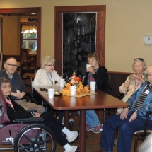 Fall Tea Party-Shoreview Senior Living-Senior residents