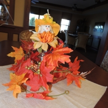 Fall Tea Party-Shoreview Senior Living-Fall decorations