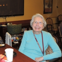 Fall Tea Party-Shoreview Senior Living-Smile big for the camera