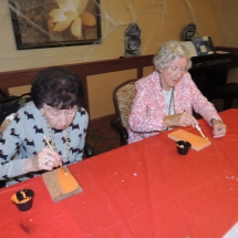 Halloween Crafts-Shoreview Senior Living (10)