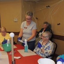 Halloween Crafts-Shoreview Senior Living (2)