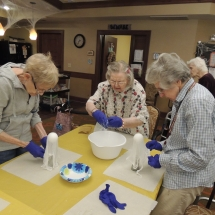 Halloween Crafts-Shoreview Senior Living (4)