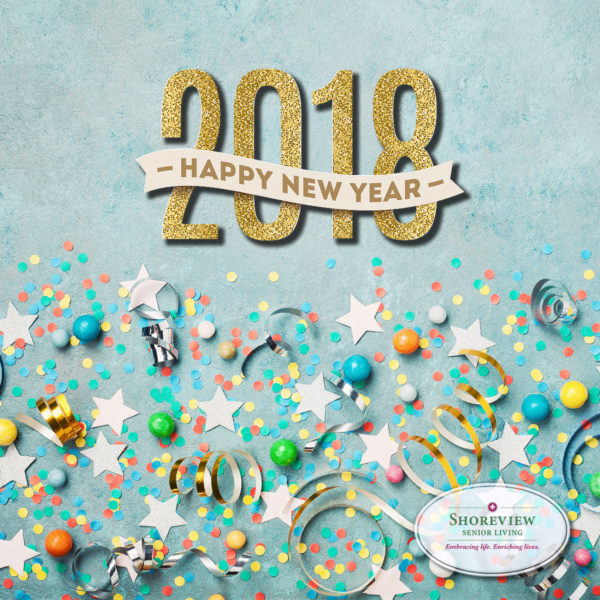 Happy New Year from Shoreview Senior Living