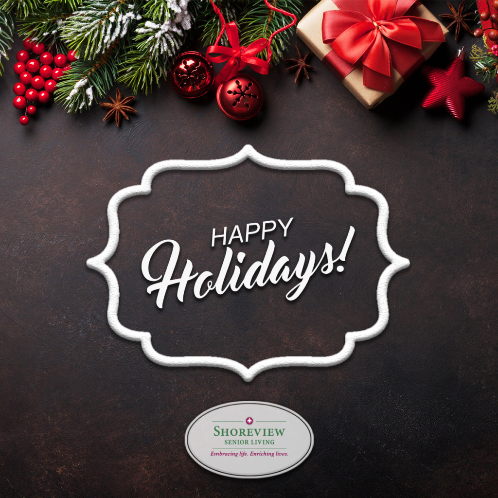 Happy Holidays from Shoreview Senior Living