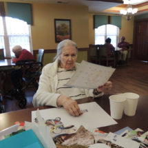 Art and games at Shoreview Senior Living