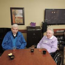Jim and Dan at Shoreview Senior Living Happy Hour