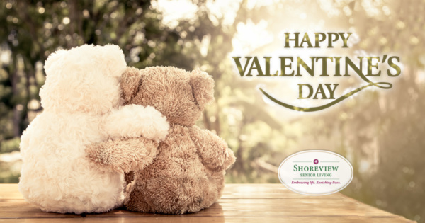Happy Valentine's Day - Shoreview Senior Living!