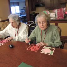 Rose Valentines at Shoreview Senior Living