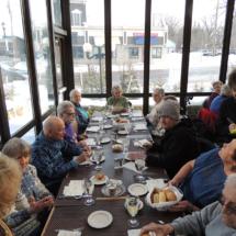 Shoreview Senior Living Field Trip to Lake Elmo Inn