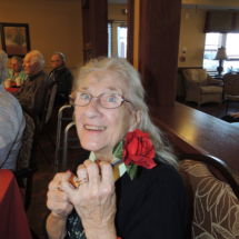 Valentine's Day at Shoreview Senior Living 2018