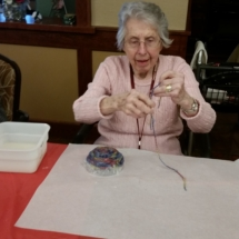 Yarn Bowls at Shoreview Senior Living