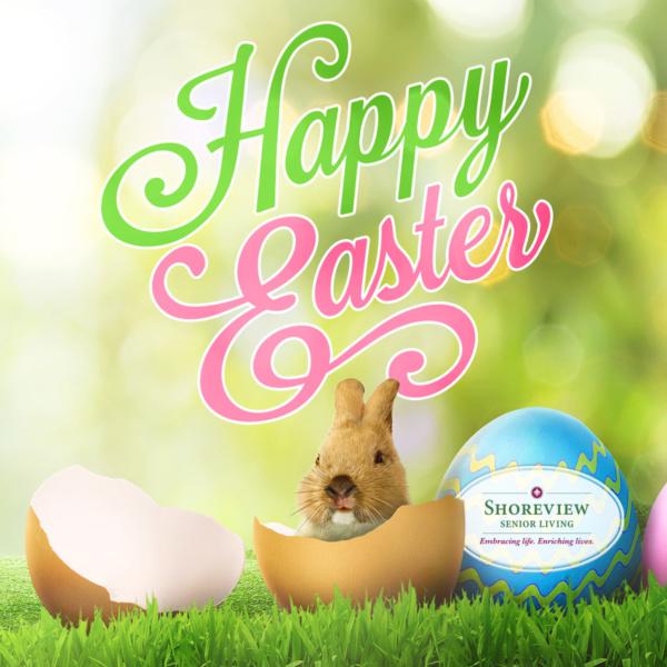 Happy Easter from Shoreview Senior Living