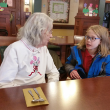 Saint Odilia visits Shoreview Senior Living