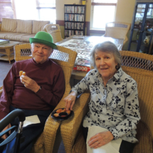 St Patricks Day at Shoreview Senior Living