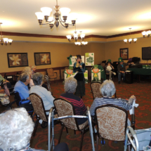Trudi at Shoreview Senior Living March 2018
