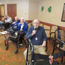 Karaoke at Shoreview Senior Living