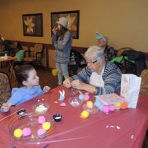 Easter Fun at Shoreview Senior Living 2018