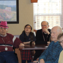 Kids Visit at Shoreview Senior Living