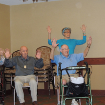Yoga and Polka at Shoreview Senior Living