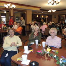 Mothers Day Tea at Shoreview Senior Living
