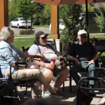 Trivia on the Patio at Shoreview Senior Living