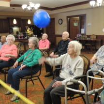 Volleyball at Shoreview Senior Living