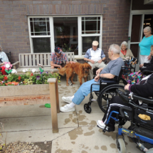 Leo's Birthday Party at Shoreview Senior Living