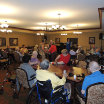 May Birthdays and Shoreview Senior Living 2018