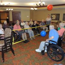 Volleyball at Shoreview Senior Living May 2018